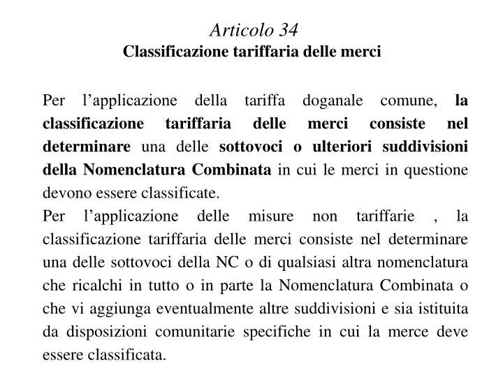 Articolo 34