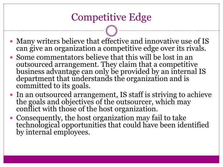 Competitive Edge