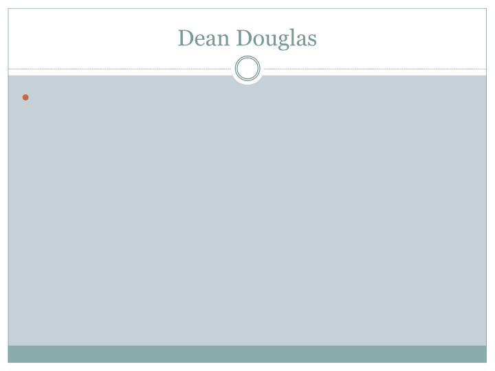 Dean Douglas