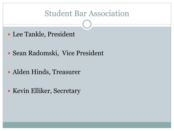 Student Bar Association