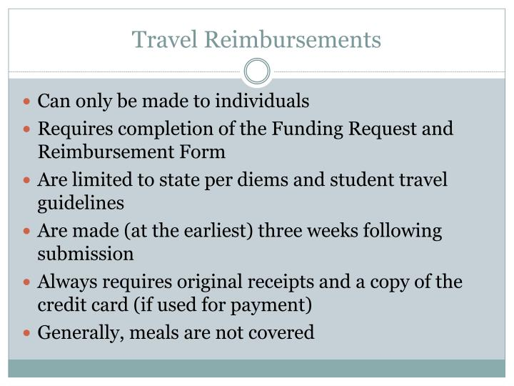 Travel Reimbursements