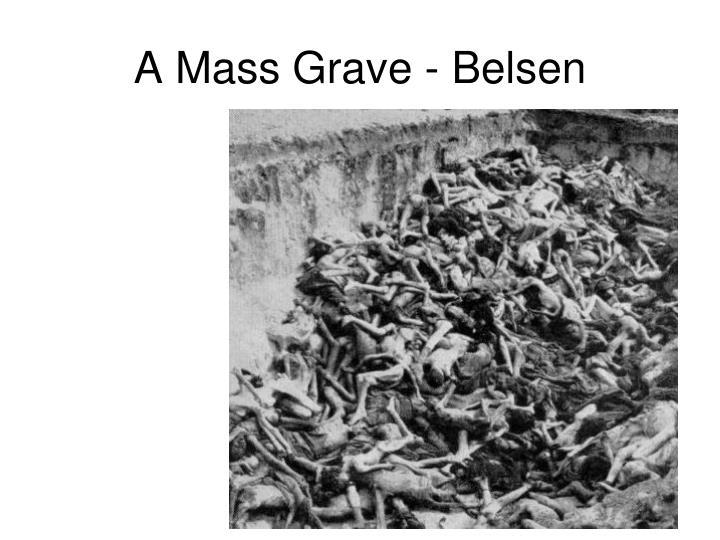 A Mass Grave - Belsen