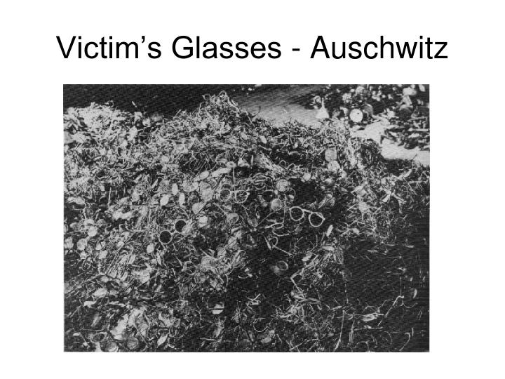 Victim's Glasses - Auschwitz