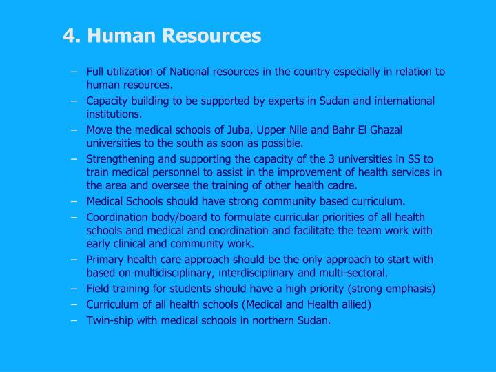4. Human