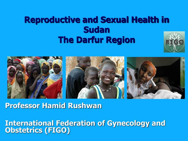 Reproductive and Sexual Health in Sudan