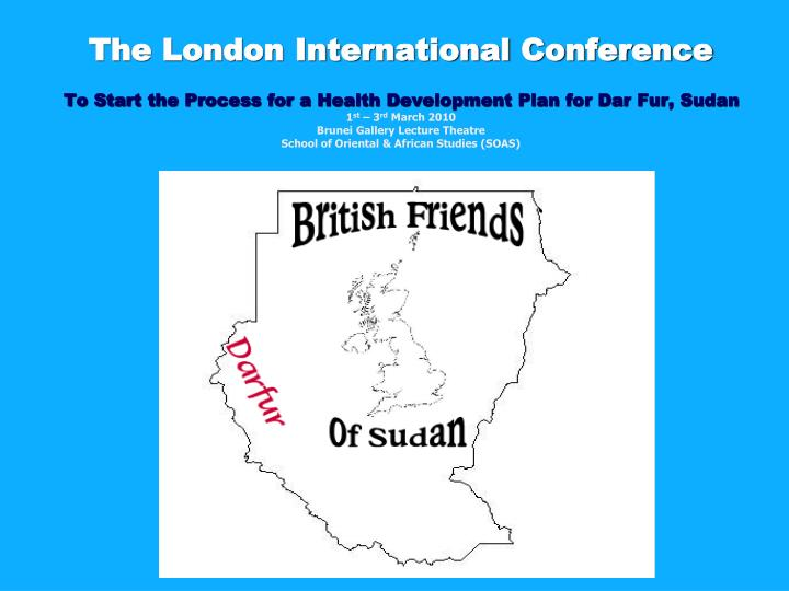 The London International Conference