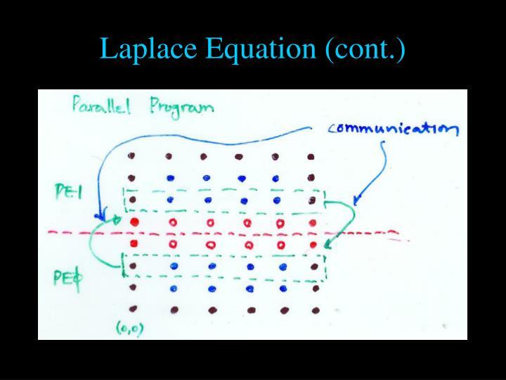 Laplace Equation (cont.)