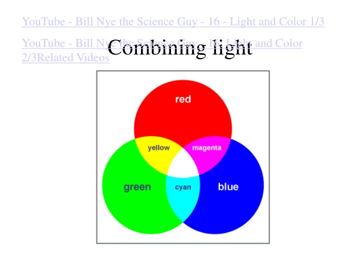YouTube - Bill Nye the Science Guy - 16 - Light and Color 1/3