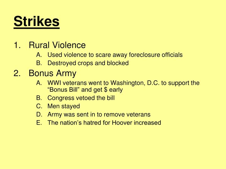 Strikes