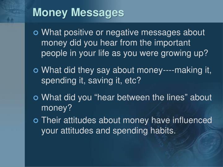 Money Messages