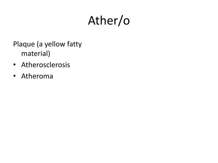 Ather/o