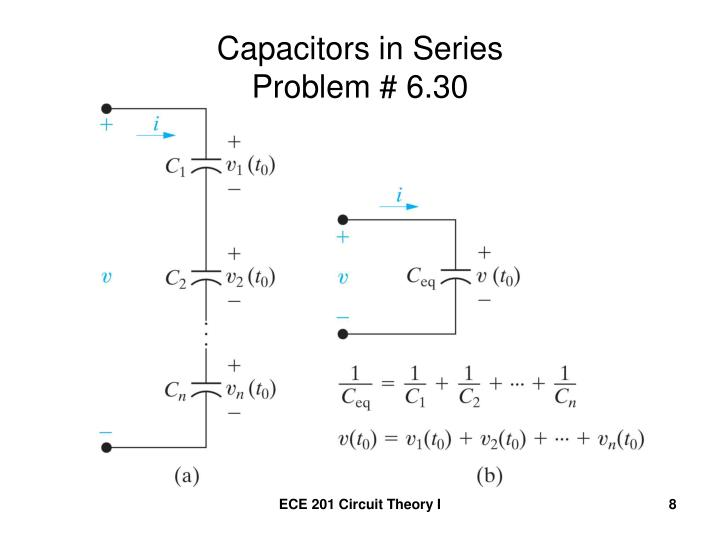 Capacitors in Series