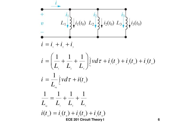 ECE 201 Circuit Theory I