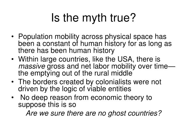 Is the myth true?