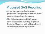 proposed sas reporting1