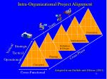 intra organizational project alignment