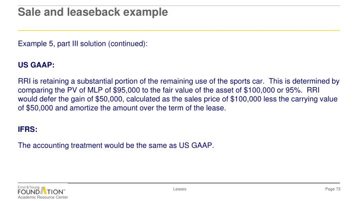Example 5, part III solution (continued):