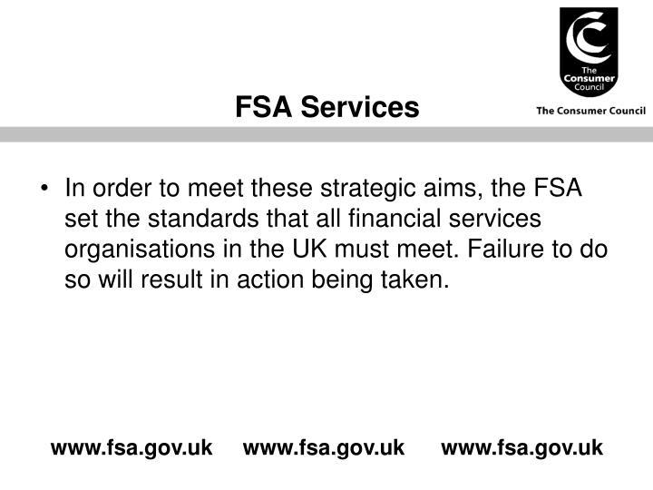FSA Services