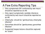 a few extra reporting tips
