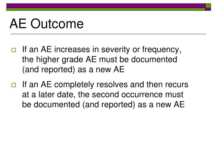 AE Outcome