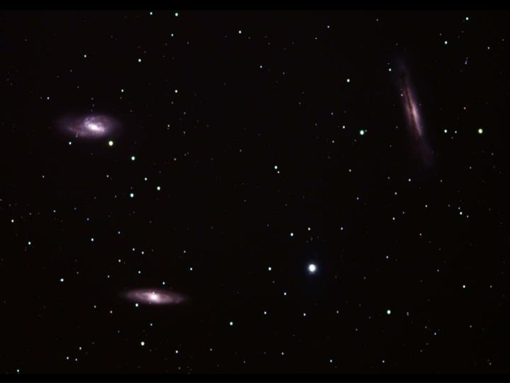 Group of galaxies in Leo