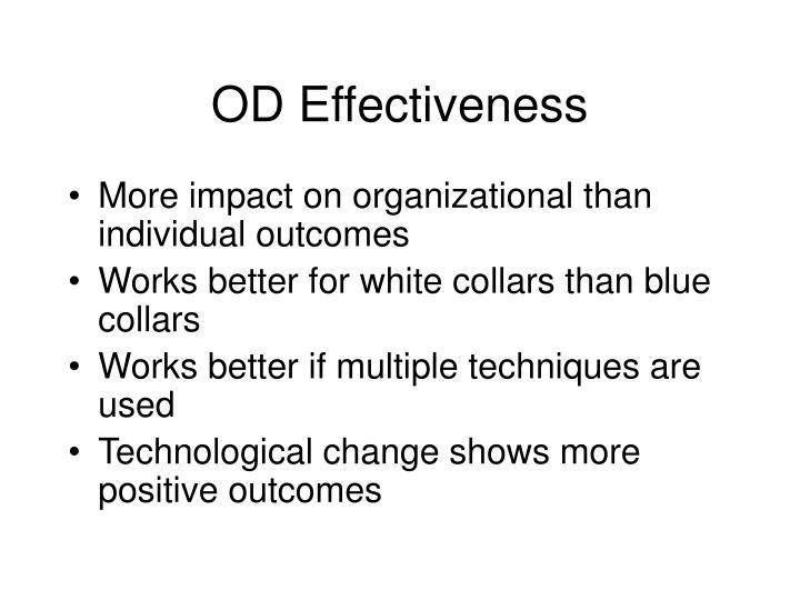 OD Effectiveness