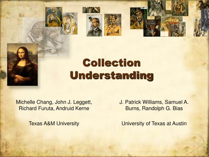 Collection Understanding