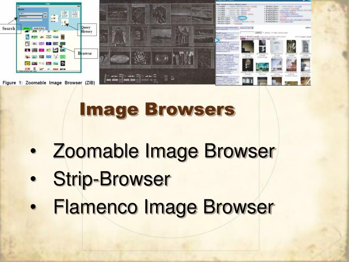 Image Browsers