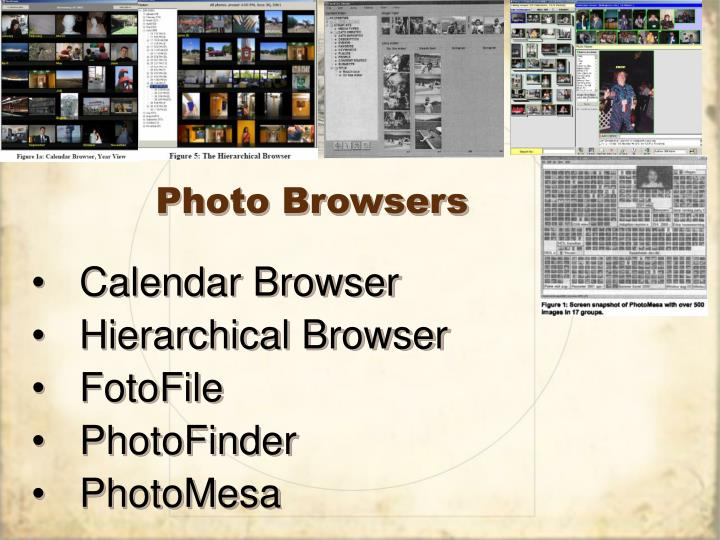 Photo Browsers