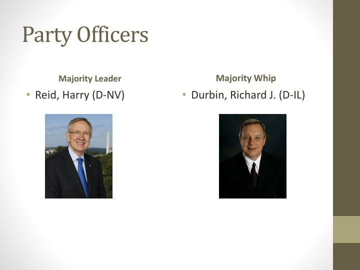 Party Officers