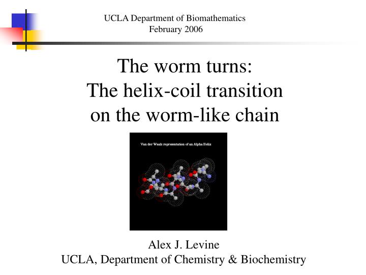 UCLA Department of Biomathematics
