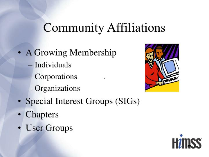Community Affiliations