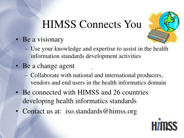 HIMSS Connects You