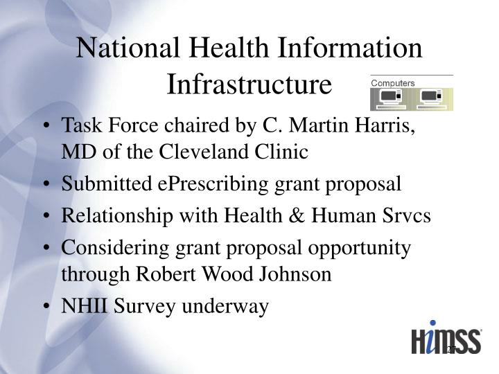 National Health Information Infrastructure