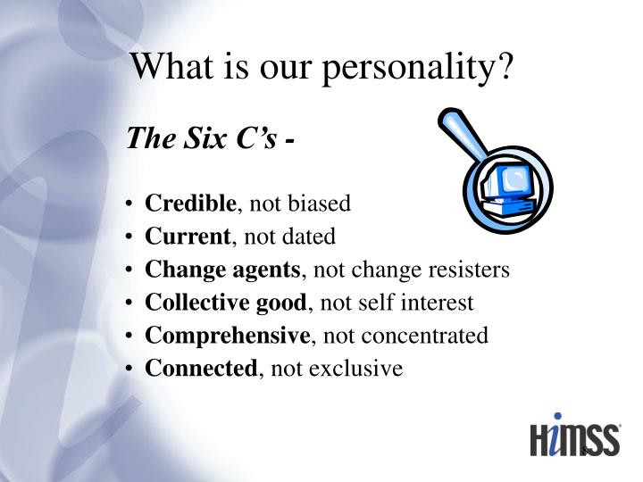 What is our personality?