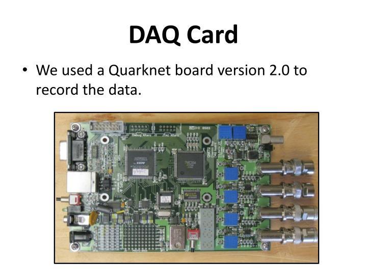 DAQ Card