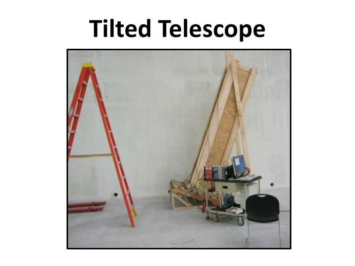 Tilted Telescope