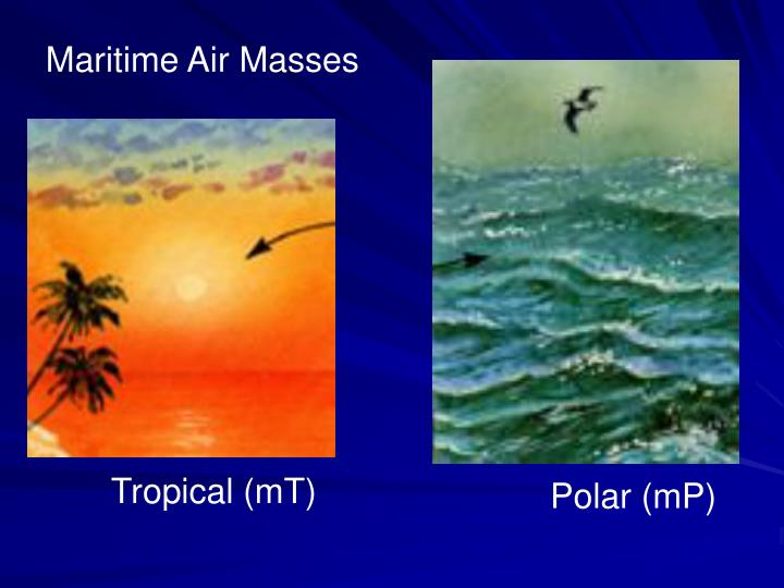 Maritime Air Masses
