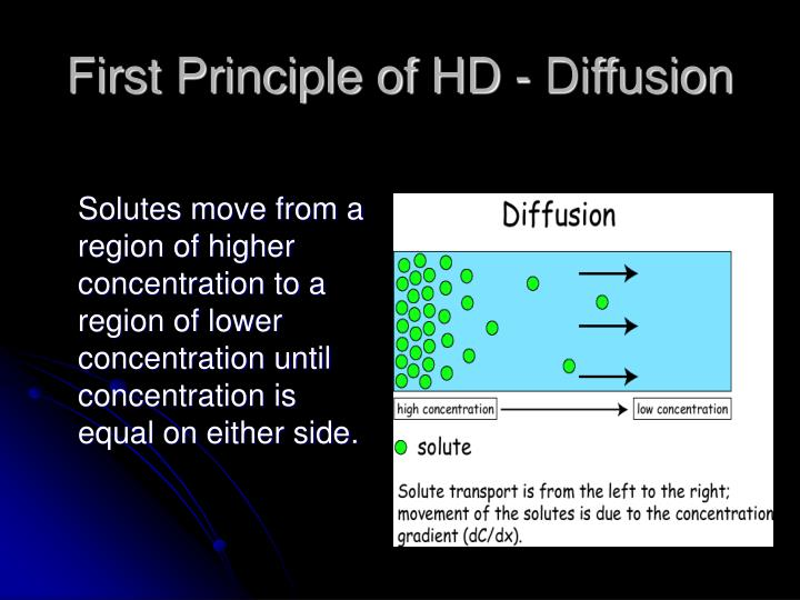 First Principle of HD - Diffusion