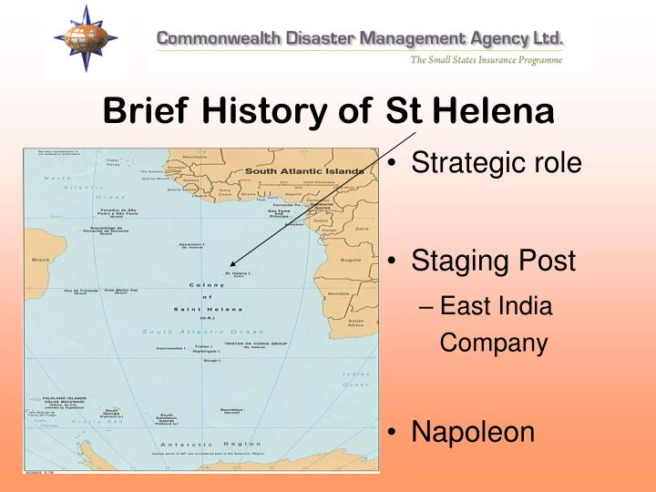 Brief History of St Helena