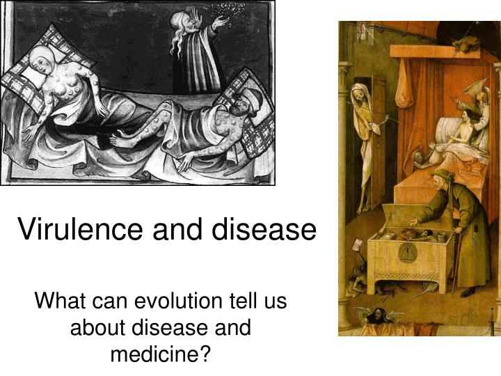 Virulence and disease