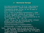 2 hormonal therapy