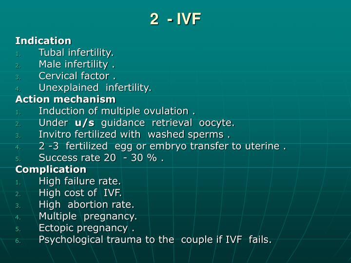 2  - IVF