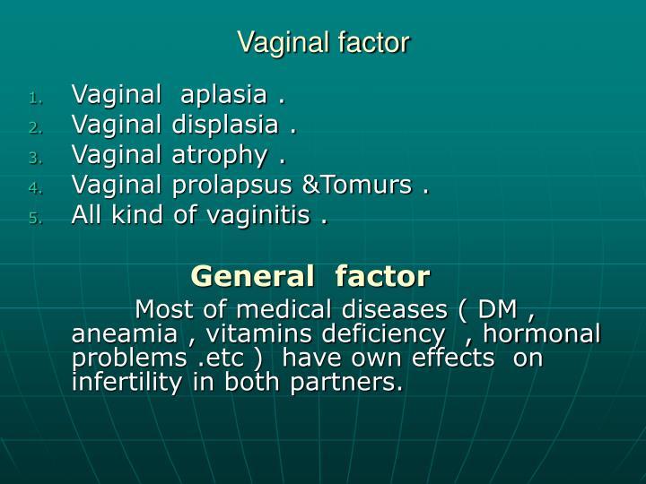 Vaginal factor