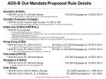 ads b out mandate proposed rule details