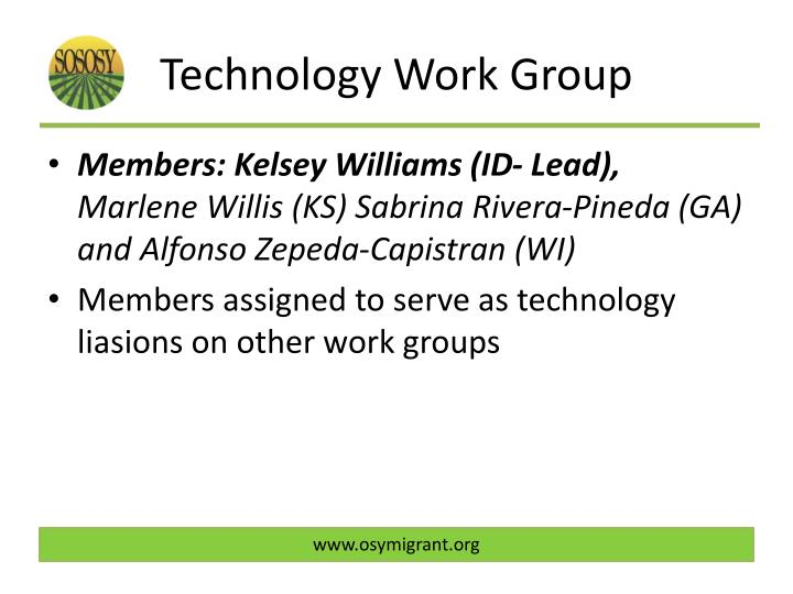 Technology Work Group