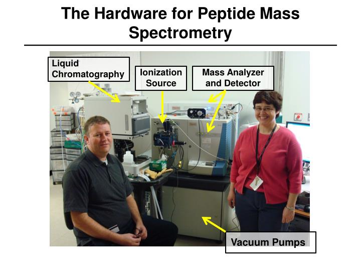 The Hardware for Peptide Mass Spectrometry