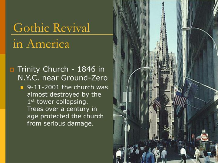 Gothic Revival in America