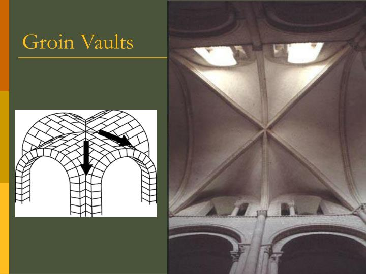 Groin Vaults