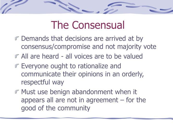The Consensual